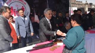 CDMX, número 1 en desarme voluntario