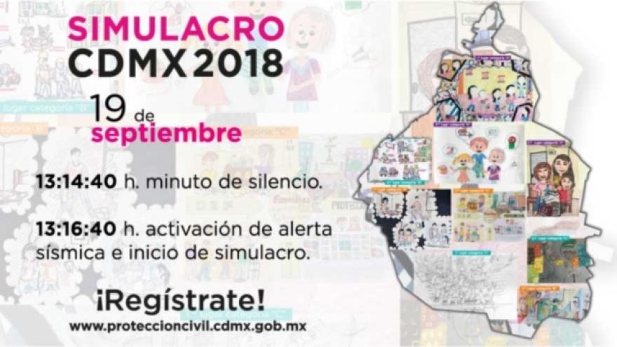 Simulacro CDMX 2018